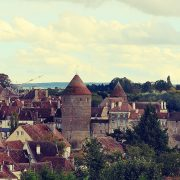 semur in auxois Bourgogne photo