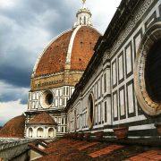 Florence sur les toits du Duomo
