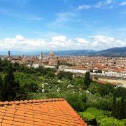 Florence vue de San Miniato 2